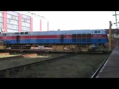 GE 3000th Evolution Locomotive Kazakhstan