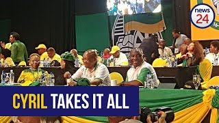 ICYMI: The tears of joy as Cyril Ramaphosa is announced president of the ANC