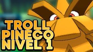 Gambar cover ¡PINECO A NIVEL 1 SUPER TROLL! Pokémon Sol y Luna: COMBATE!