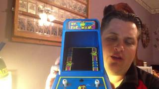 Vintage 1981 Tron & Ms Pac-Man Tabletop Games and A Sweater