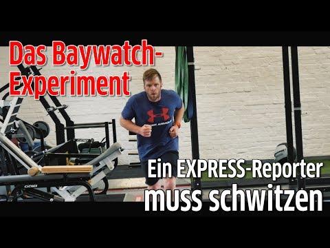 In sechs Wochen zur Baywatch-Figur: EXPRESS-Reporter will es wissen