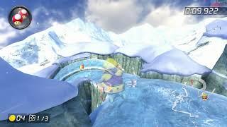 Mount Wario [200cc] - 1:16.533 - Espurr (Mario Kart 8 Deluxe World Record)