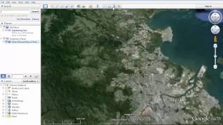 Google Earth Tutorial   How to save the Google Earth map you are creating as a kmz file Free HD Video