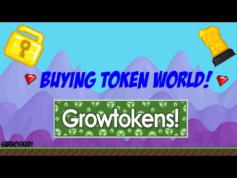 Growtopia - Buying Token World!