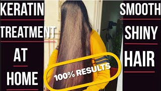5 DIY HAIR MASK To Be Used as Keratin Treatment At Home For Smooth Shiny Hair 100 RESULTS