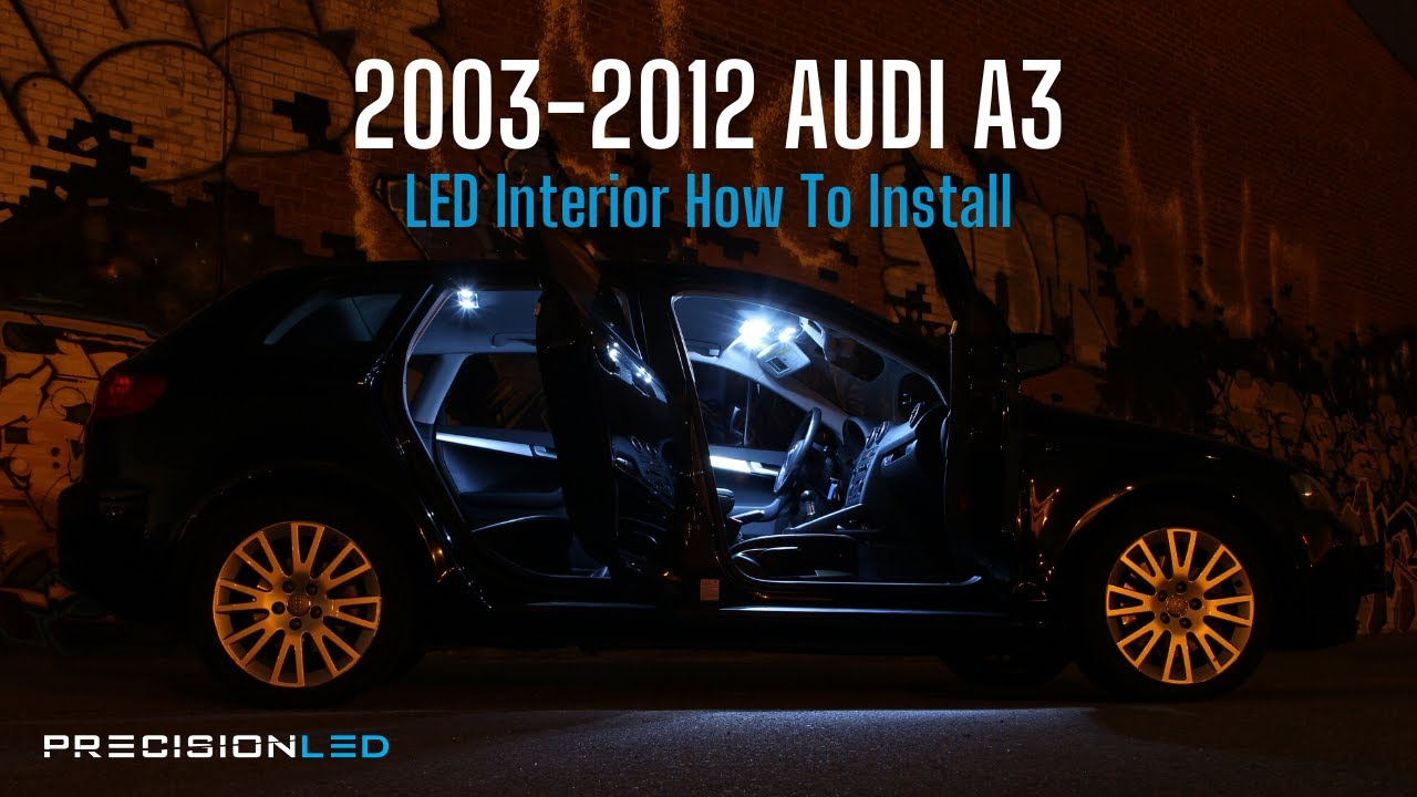 Audi A3 Led Interior Light How To Install 2nd Generation 2003 2012 Skoda Octavia Fuse Box 2014 Youtube