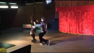 Шоу-балет на льду роликах в Новосибирске (383)29-28-921