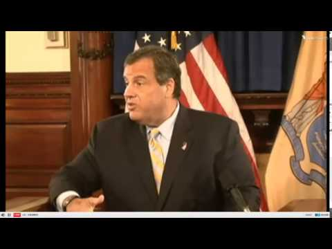 Christie Responds to Investigative Reporting About the NJ Pension System
