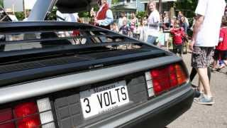 Summit & DeLorean in Grand Old Day Parade 2013