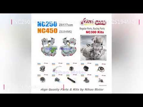 (Nihao Motor) NC250 NC450 NC300 Engine Parts (Zongshen ZS177MM ZS194MQ)