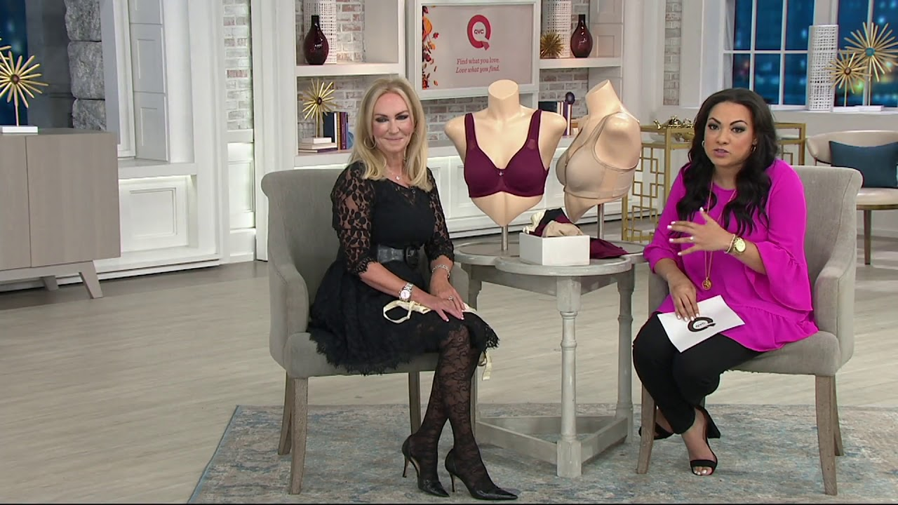 9f7c54805f Breezies Full Coverage Seamless Support Bra on QVC - YouTube