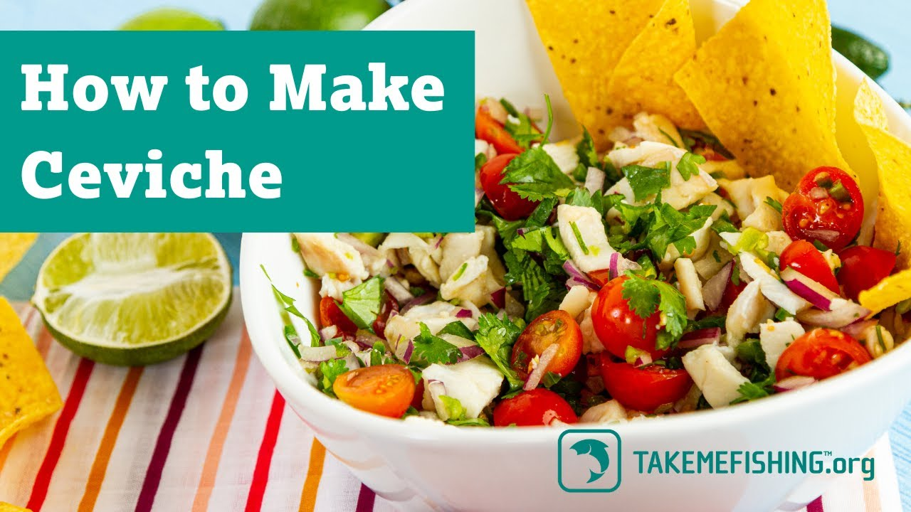 How To Make Ceviche | Fish Recipes