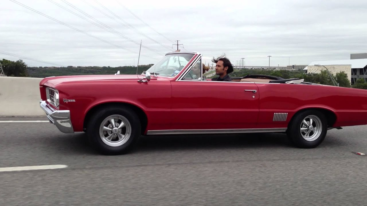 1964 Pontiac Lemans Convertible - Highway - YouTube