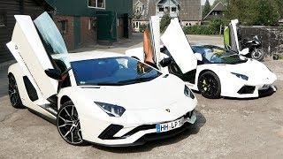 NEW AVENTADOR S vs OLD AVENTADOR (Lamborghini)