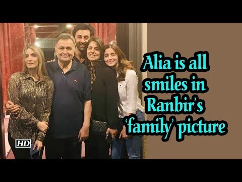 Alia Bhatt is all smiles in Ranbir's 'family' picture Mp3