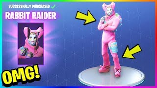"*NEW* ""RABBIT RAIDER"" SKIN GAMEPLAY! Unlock Legendary Skins in FORTNITE! (Fortnite Battle Royale)"