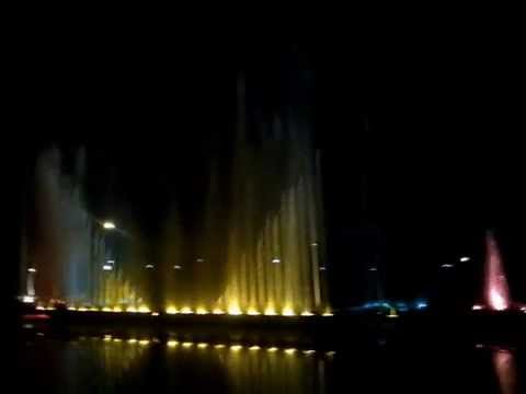 Musical Fountain @ Jawahar Circle Jaipur