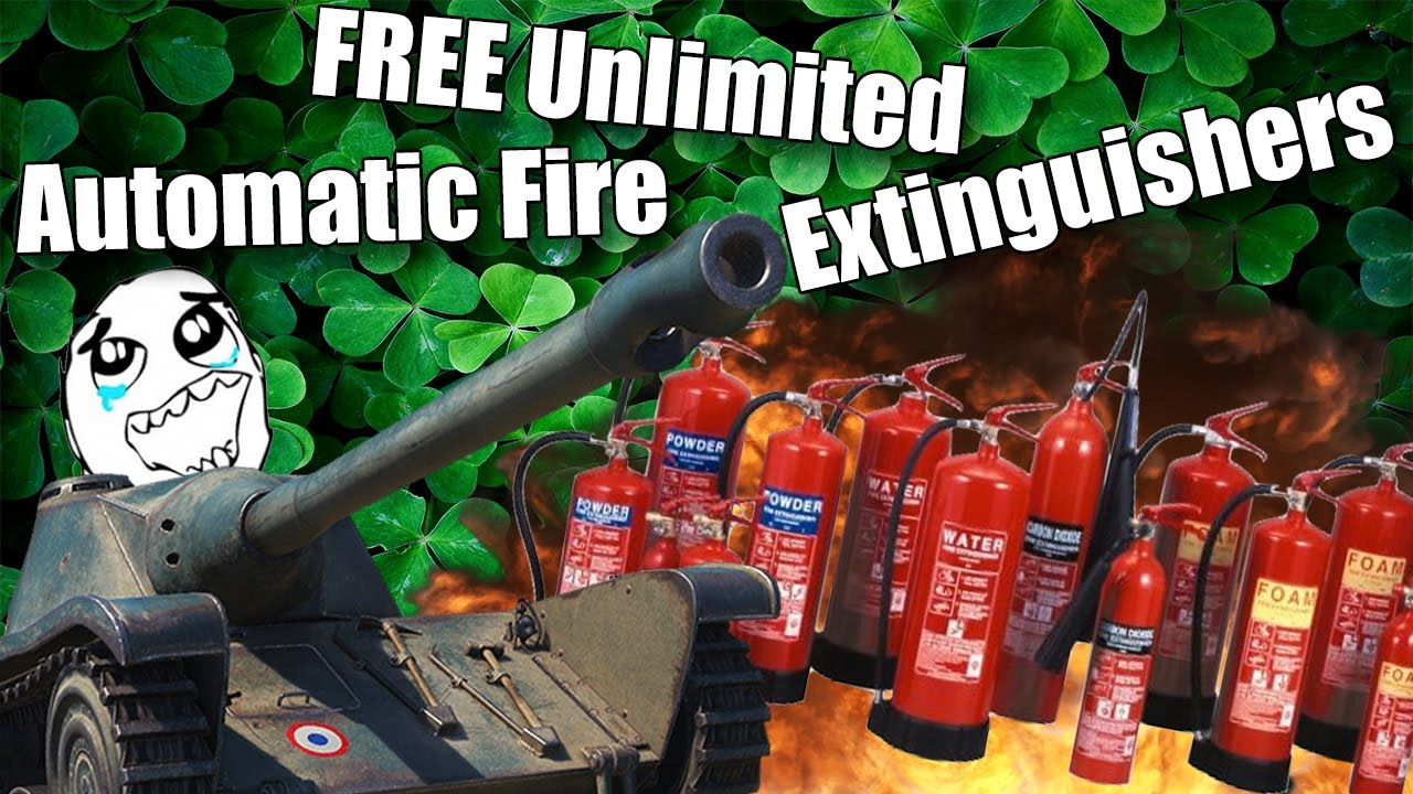 Mod Automatic Fire Extinguisher for WoT