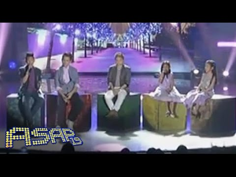 Charice sings 'Sana' with The Voice Kids Top 4