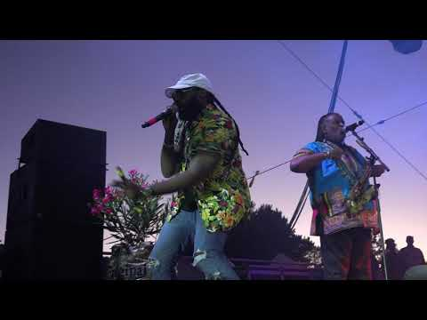 Tarrus Riley and the Black Soil Band Sierra Nevada World Music Festival whole show June 17, 2 017