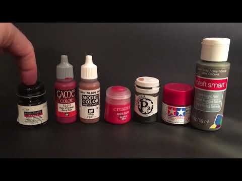 Paints to use or not use for custom action figures.  Figure painting tutorial for Marvel Legends