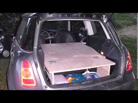Mini Cooper Clubman >> MINI COOPER CAMPER VAN - YouTube