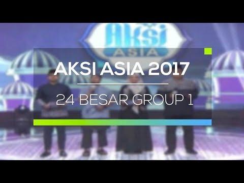 Highlight Aksi Asia 2017  - 24 Besar (Group 1)