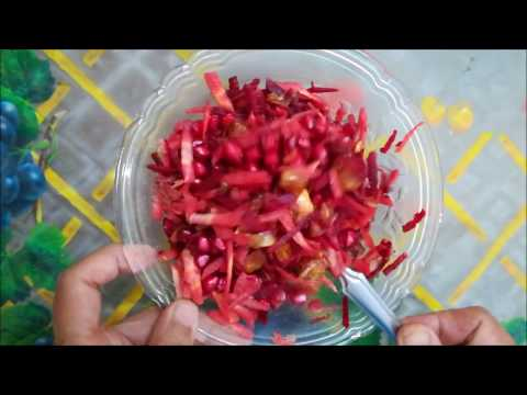 Beet Root & Carrot Salad | How To Make Carrot Salad | Vimla's Kitchen