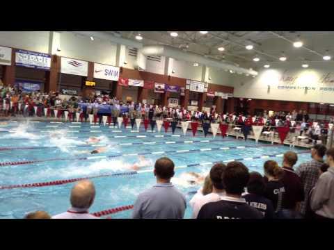 Luke Kalisak, Baylor School, 50 free, TISCA state championships