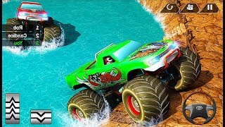 Mega Truck Race Monster Truck Racing Game - 4x4 Offroad Car Games - Android GamePlay