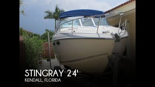 Used 1991 Stingray 24 Express Cruiser For Sale In Kendall, Florida