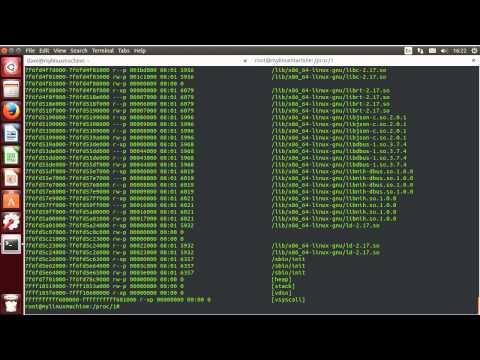 Linux Sysadmin Basics -- 6.3 The /proc Filesystem
