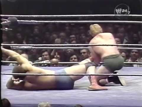 Bob Backlund vs Ernie Ladd