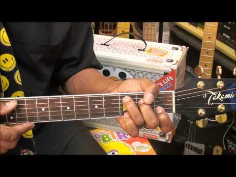 Sesame Street TV Theme Chord Strumming Guitar Lesson EricBlackmonMusicHD Kids