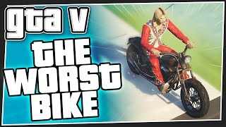THE WORST BIKE - GTA 5 Online (GTA V Funny Moments)