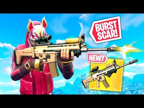 *NEW* BURST SCAR! | Fortnite Funny and Best Moments Ep.291 (Fortnite Battle Royale)