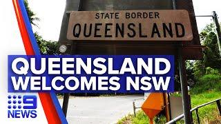 Coronavirus: Queensland Welcomes Nsw As Borders Reopen | 9 News Australia