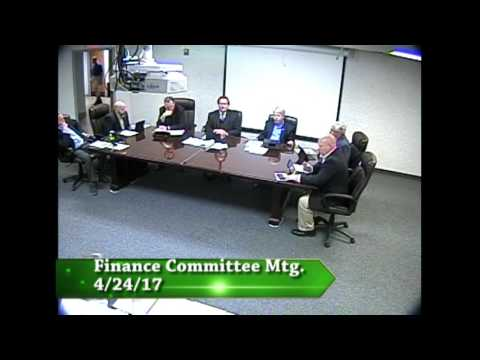 Finance Committee - 4/24/17