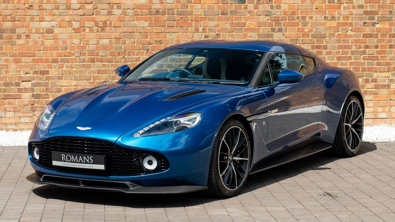 2017 Aston Martin Vanquish Zagato Coupe Ming Blue Walkaround Interior Engine Sound Youtube