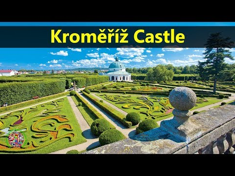 Best Tourist Attractions Places To Travel In Czech Republic | Kroměříž Castle Destination Spot