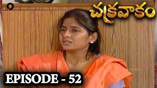 Episode 52 | Chakravakam Telugu Daily Serial