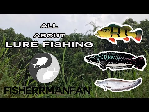 Freshwater Luring •ALL ABOUT FISHING• EP 1 Lures