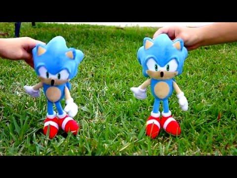 Sonic Plush: Imitation Sonic
