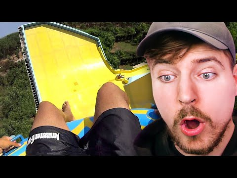 Insane Water Slides! - Beast Reacts