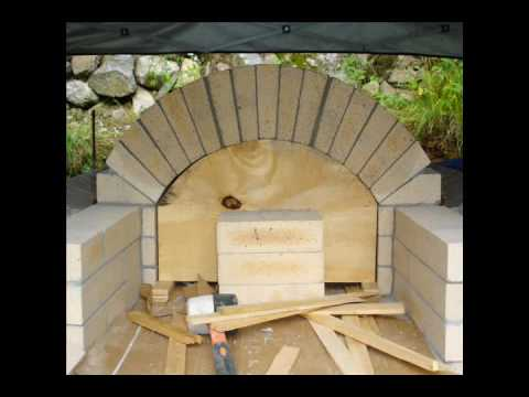Bob's Wood Fired Pizza Oven - YouTube