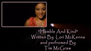 "Tim McGraw ""Humble and Kind"" Live from the CMA Awards 2016 With Lyrics"