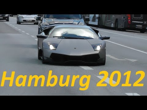Exotic Cars in Hamburg - Sounds & Combos [Full HD]