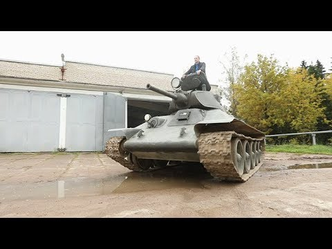 Не факт. Танк Т-34