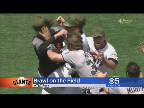 GIANTS BRAWL: Bad feelings between SF's Hunter Strickland and Nats Bryce Harper boil over into a fis