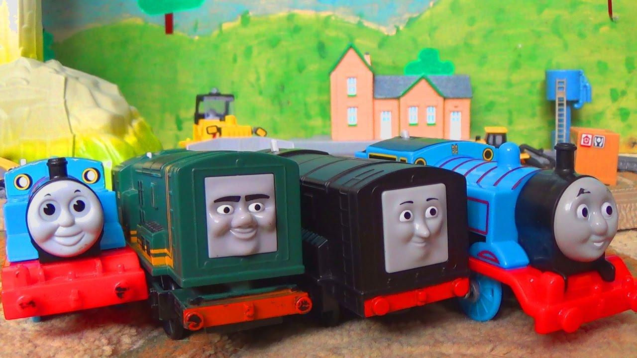 Паровозик Томас и его друзья - Железная дорога и поезда - Игрушки для детей